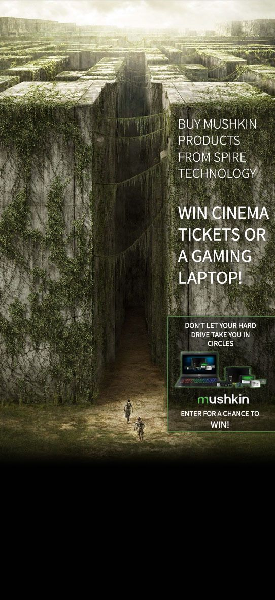 Mushkin Maze Runner Promotion