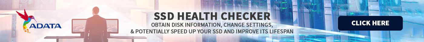 Adata SSD health checker