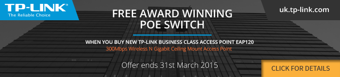 TP-Link POE Switch Promotion