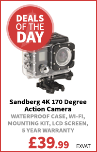 Sandberg (430-00) 4K 170 Degree Action Camera