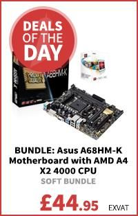 Asus A68HM-K Motherboard with AMD A4 X2 4000