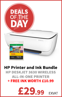 HP Printer and Ink Bundle