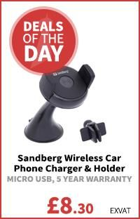 Sandberg Wireless Car Phone Charger