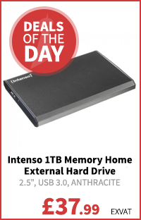 Intenso 1TB Memory Home External Hard Drive