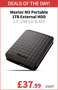 Maxtor M3 Portable 1TB External Hard Drive