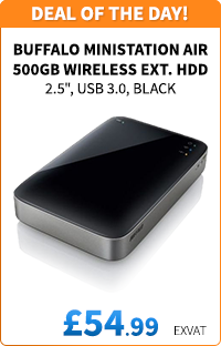 Buffalo 500GB MiniStation Air Wireless