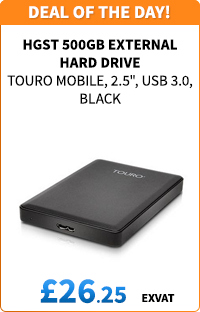 HGST 500GB Touro Mobile External Hard Drive