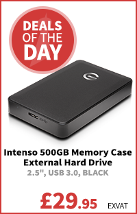 Intenso 500GB Memory Case External Hard Drive