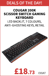 Cougar 200K Scissor Switch Gaming Keyboard