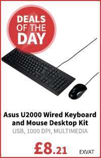 Asus U2000 Wired Keyboard and Mouse