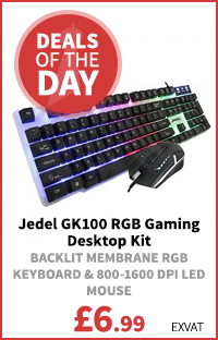 Jedel GK100 RGB Gaming Desktop Kit