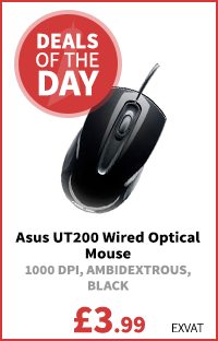 Asus UT200 Wired Optical Mouse