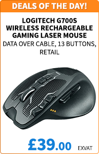 Logitech G700S Wireless Rechargeable Gaming Mouse