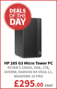 HP 285 G3 Micro Tower PC