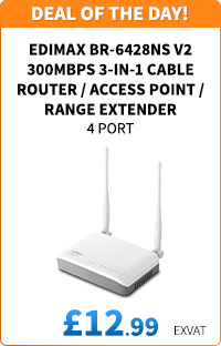 Edimax BR-6428NS V2 3-in-1 Cable Router