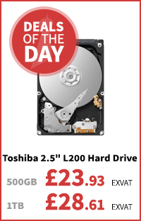 Toshiba L200 7mm Hard Drives