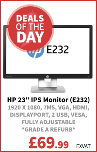 HP 23 inch IPS Monitor (E232)