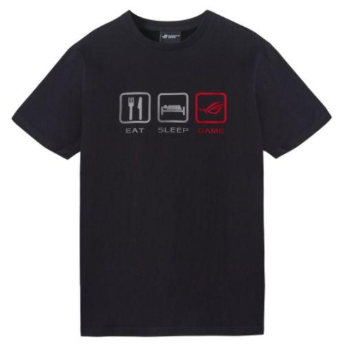 Asus ROG Lifestyle T-Shirt, Black, Extra Large