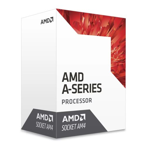 AMD A8 X4 9600 CPU, AM4, 3.1GHz (3.4 Turbo), Quad Core, 65W, 2MB Cache, 28nm