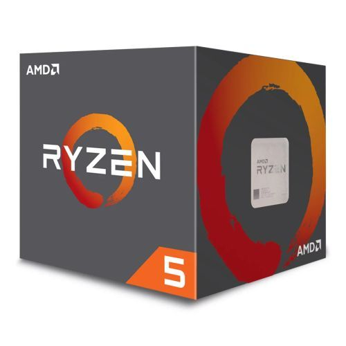 AMD Ryzen 5 1600 CPU with Wraith Cooler, AM4, 3.2GHz (3.6 Turbo), 6-Core, 65W, 19MB Cache, 14nm, No Graphics