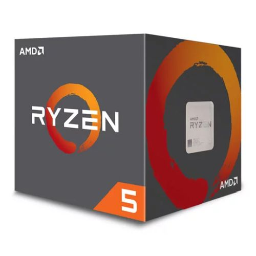 AMD Ryzen 5 2600X CPU with Wraith Cooler, AM4, 3.6 GHz (4.2 Turbo), 6-Core, 95W, 19MB Cache, 12nm, 2nd Gen, No Graphics