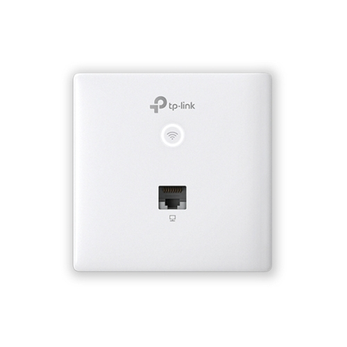 TP-LINK (EAP230-WALL) Omada AC1200 Wireless Wall Mount GB Access Point, Dual Band, PoE, MU-MIMO, Free Software