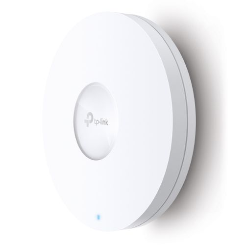 TP-LINK (EAP610) AX1800 Dual Band Wireless Ceiling Mount Access Point, PoE+, GB LAN, Omada Mesh, Free Software