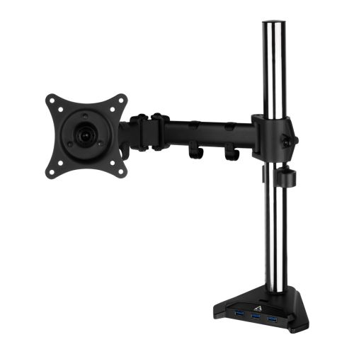 Arctic Z1 Pro Gen 3 Single Monitor Arm with 4-Port USB 3.0 Hub, up to 43