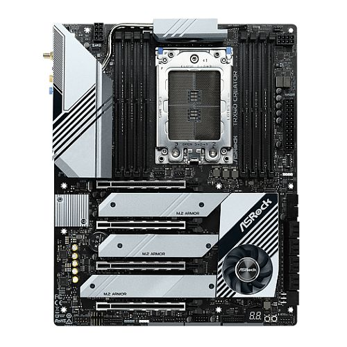 Asrock TRX40 CREATOR, AMD TRX40, sTRX40, ATX, XFire/SLI, AX Wi-Fi, 10GB & 2.5GB LAN, M.2