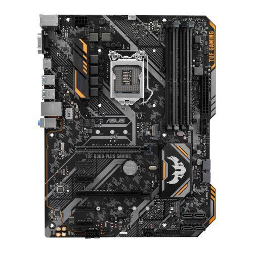 Asus TUF B360-PLUS GAMING, Intel B360, 1151, ATX, DDR4, VGA, HDMI, RGB Lighting, M.2