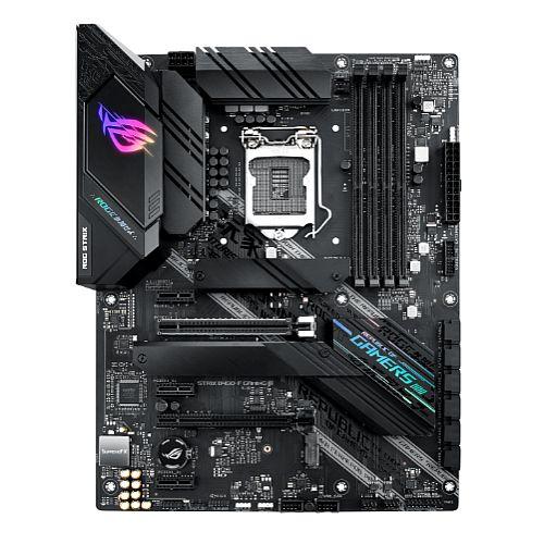 Asus ROG STRIX B460-F GAMING, Intel B460, 1200, ATX, 4 DDR4, XFire, HDMI, DP, RGB Lighting, M.2