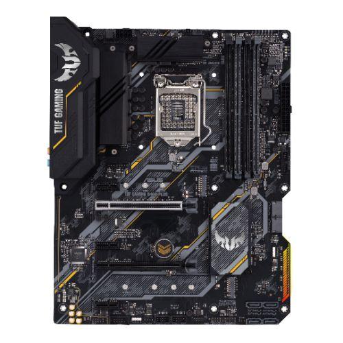 Asus TUF GAMING B460-PLUS, Intel B460, 1200, ATX, 4 DDR4, XFire, HDMI, DP, RGB Lighting, M.2