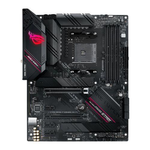 Asus ROG STRIX B550-F GAMING (WI-FI), AMD B550, AM4, ATX, 4 DDR4, HDMI, DP, XFire, AX Wi-Fi, 2.5GB LAN, RGB Lighting, M.2