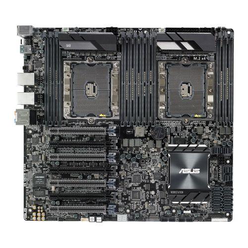Asus WS C621E SAGE, Workstation, Intel C621, S 3647, EEB, Dual Scalable Xeon, 12 DDR4, Quad XFire/SLI, Dual LAN, M.2
