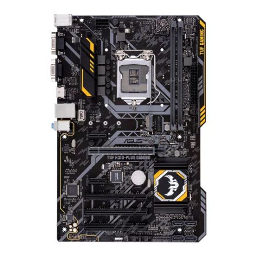 Asus TUF H310-PLUS GAMING, Intel H310, 1151, ATX, DDR4, VGA, HDMI, M.2, RGB Lighting