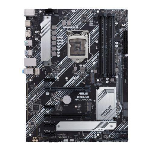 Asus PRIME H470-PLUS, Intel H470, 1200, ATX, 4 DDR4, XFire, HDMI, DP, RGB Lighting, M.2