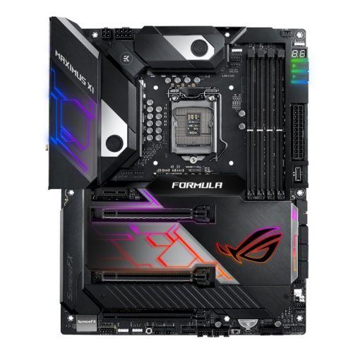 Asus ROG MAXIMUS XI FORMULA, Intel Z390, 1151, ATX, XFire/SLI, HDMI, Wi-Fi, 5G LAN, RGB Lighting