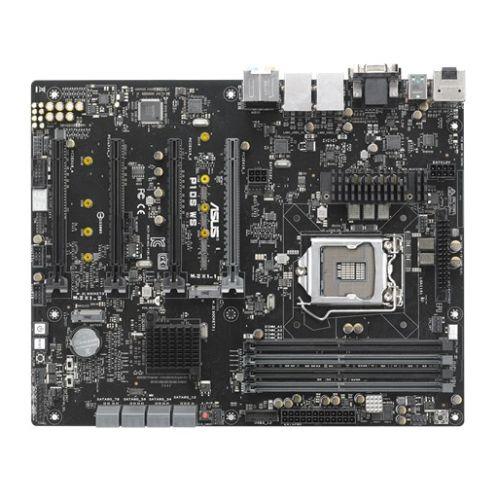 Asus P10S WS, Server/WS, Intel C236, 1151, ATX, DDR4, DVI, HDMI, DP, Quad PCIe3, Dual GB LAN, M.2