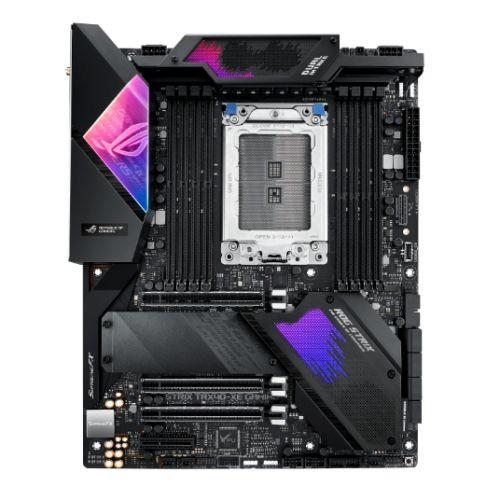 Asus ROG STRIX TRX40-XE GAMING, AMD TRX40, sTRX40, ATX, XFire/SLI, AX Wi-Fi, 2.5GB LAN, RGB Lighting, M.2, 64 Core CPU Support