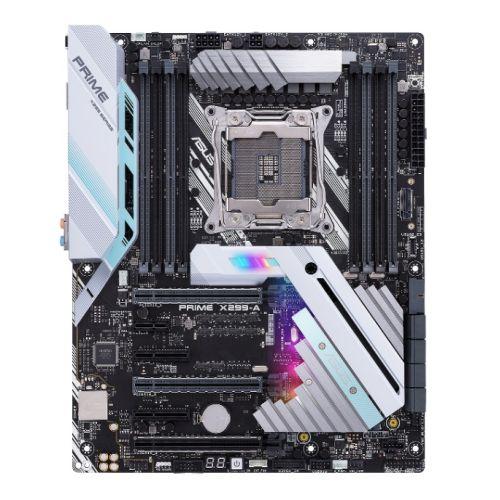 Asus PRIME X299-A, Intel X299, 2066, ATX, NVME RAID, SLI/XFire, RGB Lighting, M.2