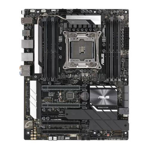 Asus WS X299 PRO, Workstation, Intel X299, 2066, ATX, DDR4, U.2, Dual LAN, SLI/XFire, M.2