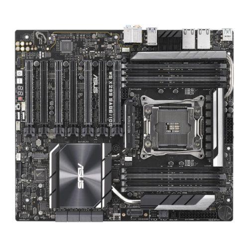 Asus WS X299 SAGE/10G, Workstation, Intel X299, 2066, CEB, DDR4, 7 x PCIe, U.2, Dual 10G LAN, M.2
