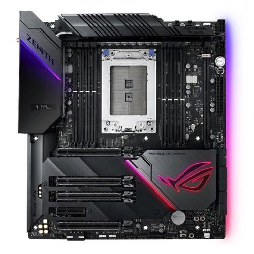 Asus ROG ZENITH EXTREME ALPHA, AMD X399, TR4, EATX, 8 DDR4, XFire/SLI, Wi-Fi, Dual LAN (1 x 10GB), RGB Lighting, M.2