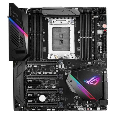 Asus ROG ZENITH EXTREME, AMD X399, TR4, EATX, 8 DDR4, XFire/SLI, Wi-Fi, 10G LAN Card, RGB Lighting, M.2