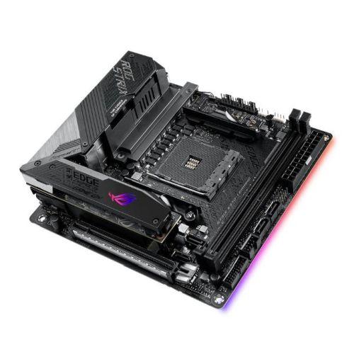 Asus ROG STRIX X570-I GAMING, AMD X570, AM4, ATX, 4 DDR4, HDMI, DP, SLI/XFire, Wi-Fi, 2.5GB LAN, PCIe4, RGB Lighting