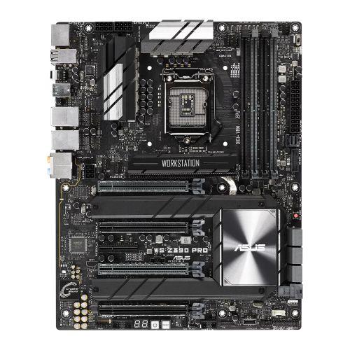 Asus WS Z390 PRO, Workstation, Intel Z390, 1151, ATX, HDMI, DP, Dual LAN, AI Overclocking, Quad-GPU Support, M.2