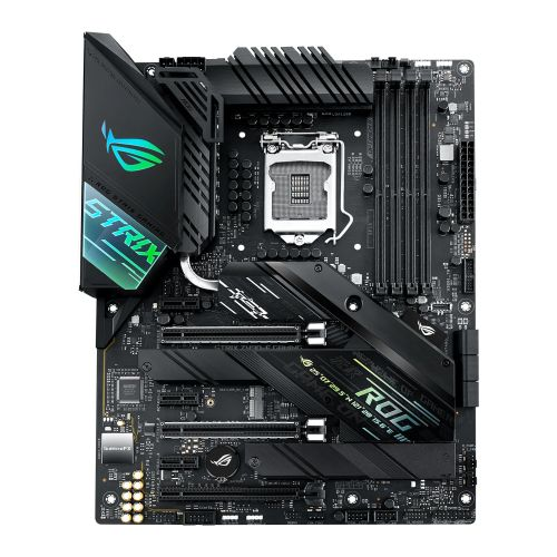 Asus ROG STRIX Z490-F GAMING, Intel Z490, 1200, ATX, 4 DDR4, XFire/SLI, HDMI, DP, 2.5G LAN,  RGB Lighting, M.2