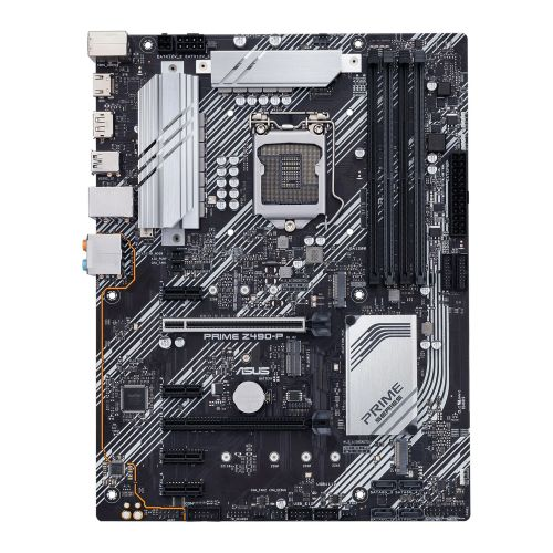 Asus PRIME Z490-P, Intel Z490, 1200, ATX, 4 DDR4, XFire, HDMI, DP, RGB Lighting, M.2