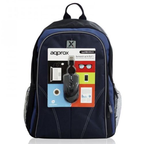 Approx APPNBBUNDLE40 Backpack & Mouse Bundle - 15.6