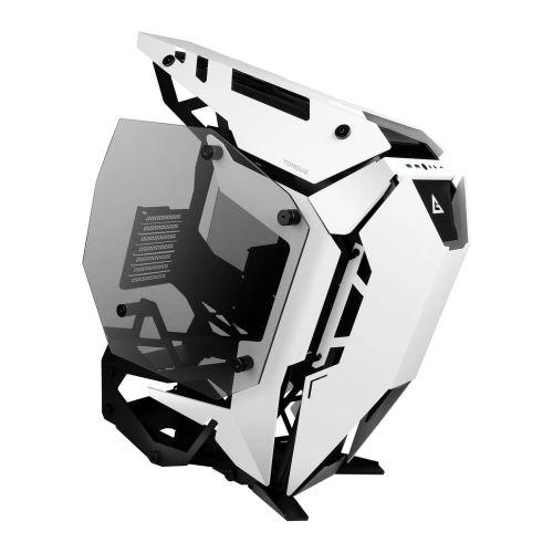 Antec Torque Open Frame Gaming Case w/ Tempered Glass Windows, E-ATX, No PSU, Aluminium Frame, USB 3.1-C, White
